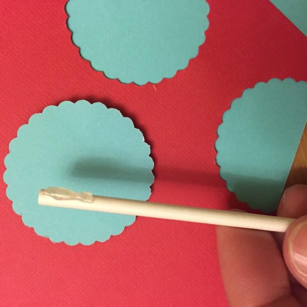 DIY cupcake pick decorations @ohbotherblog