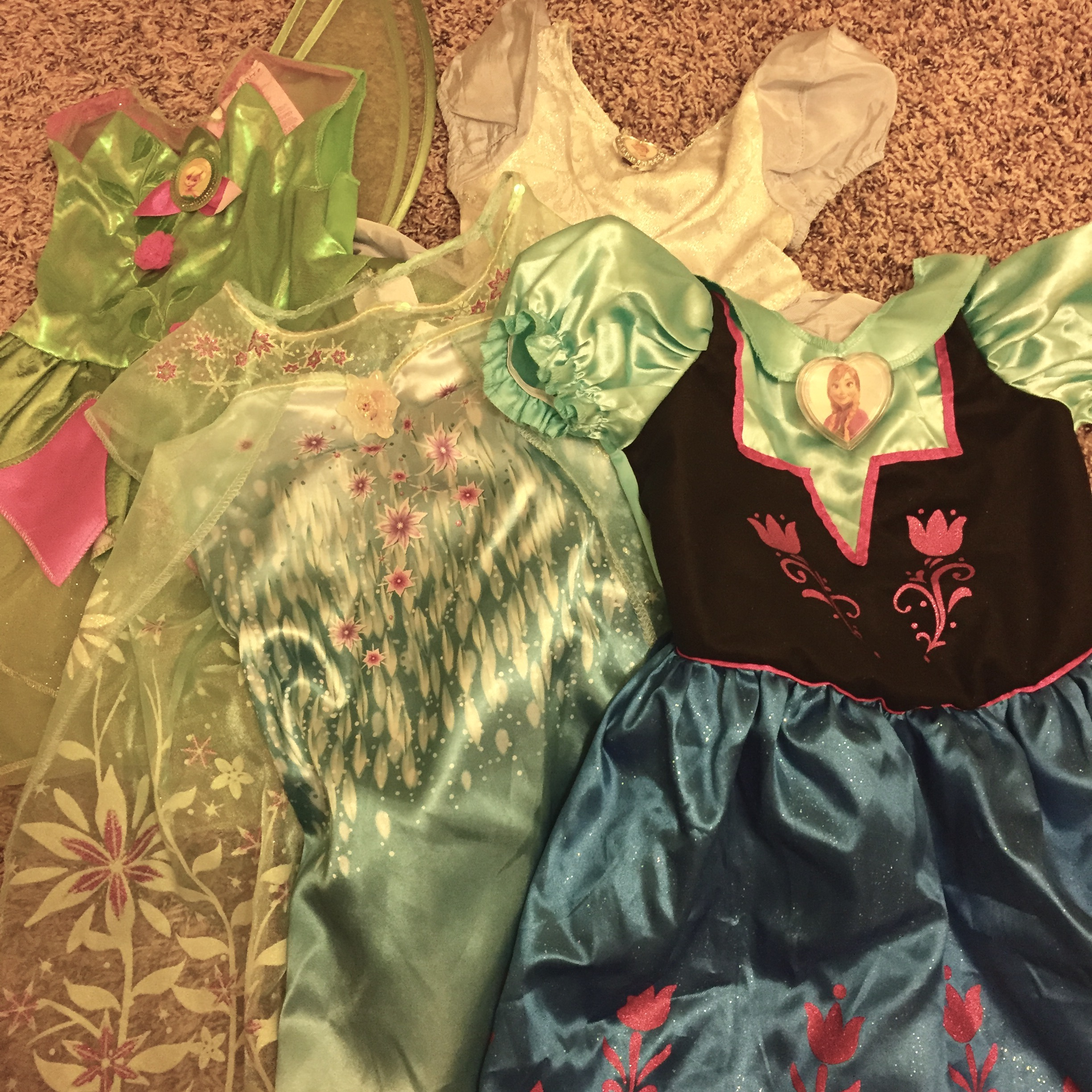 Taking all the princess dresses to Disney World @ohbotherblog
