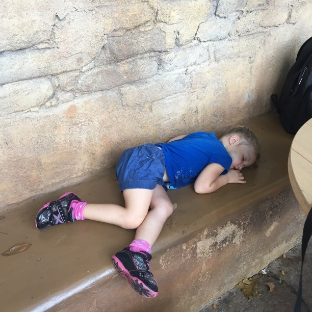 Naps in Disney World @ohbotherblog