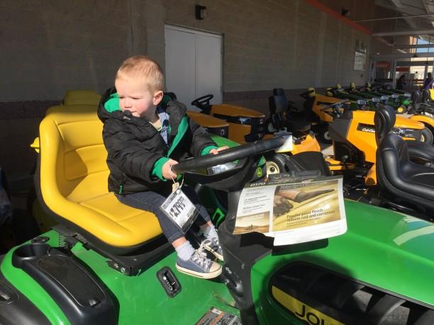 My kid loves vehicles @ohbotherblog