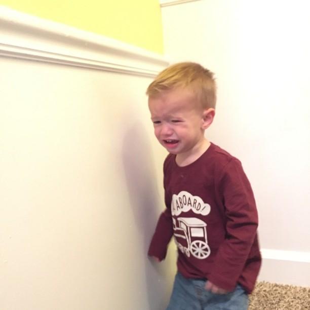 Toddler tantrums @ohbotherblog