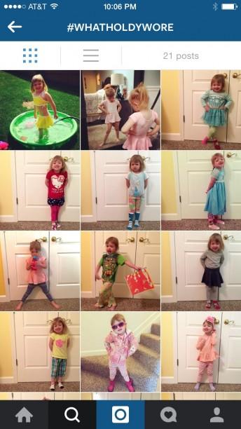 I let my toddler dress herself. #whatholdywore @ohbotherblog