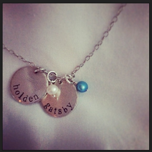 Mom Baby Birthstone Necklace @ohbotherblog