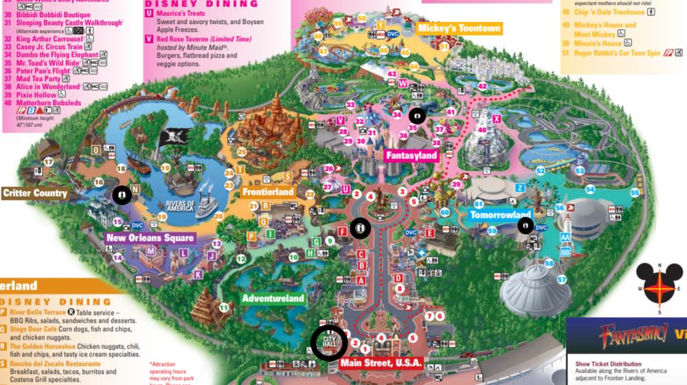 DAS Kiosks in Disneyland