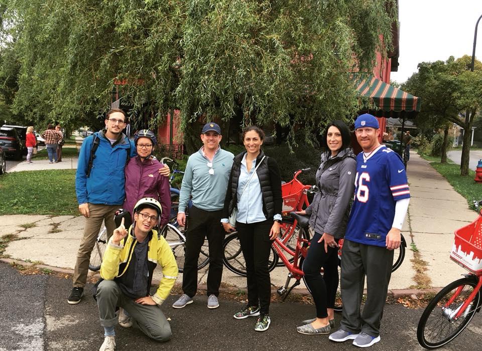 Buffalo Bike Tours group photo