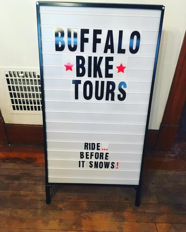 Things are about to get real at Buffalo Bike Tours – the season starts May 1st!