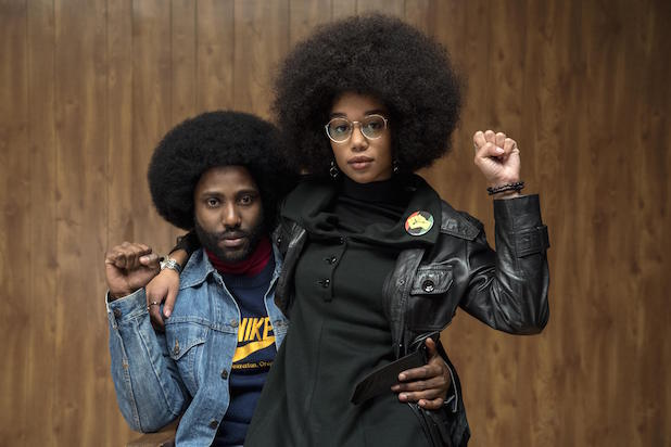 John David Washington, BlacKkKlansman - Helming the Best Picture nominee, BlacKkKlansman, Washington's performance strikes an amazing balance between heart-felt and laugh out loud funny.