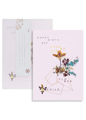 Birthday Card Flower Child