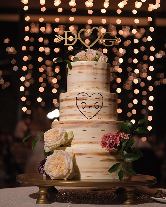 Happy Friday, friends! How epic is this cake at @roundhousebeacon in front of our Bistro Light Waterfall? Photo by @rickyrestianophotography. Florals by @dark_and_diamond. . . #lnjwedding #lnjweddings #roundhousebeacon #roundhousewedding #roundhouseweddings #wedding #weddingcake #weddingreception #cakecutting #weddinglighting #weddingdesign #hudsonvalleyweddings #nyweddings #upstatenywedding #bistrolights #bistrolightdesign