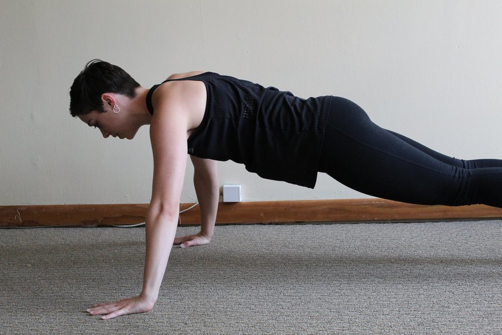 Basic Push-Up: 3 Ways