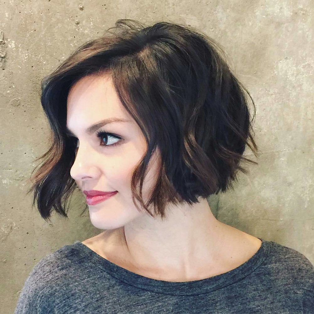 Blunt Jawline Bob - Click Here NOW to see more.
