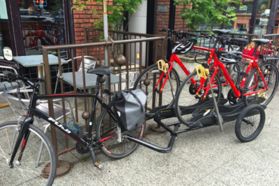 Carbon-free bike delivery - We deliver bikes by bike. Meta, right?
