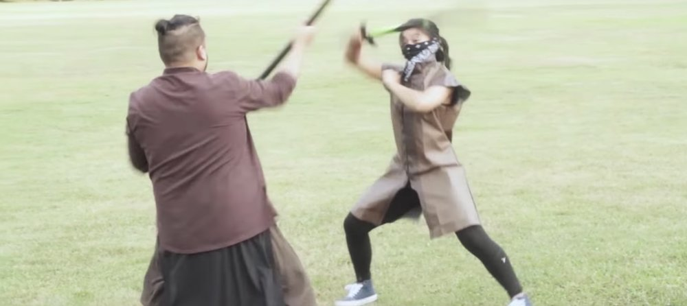 """Masked Soldier"" in The Forgotten Kingdom: A Kung Fu LARP Story"