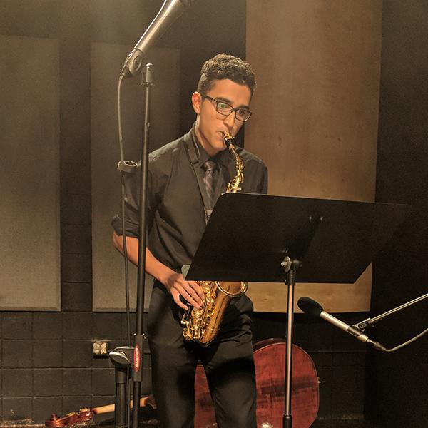 Brandon Lee Torres , alto saxophone