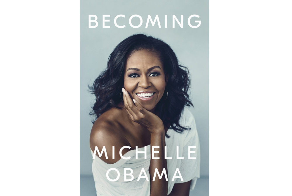 Michelle Obama's New York bestseller, Becoming.