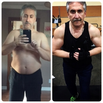 12 WEEK TRANSFORMATION FOR THIS 52 YEAR OLD. TOOK CARE OF HIS FAMILY. HIS KIDS FINISHED COLLEGE. SO IT WAS HIS TURN TO TAKE CARE OF HIMSELF