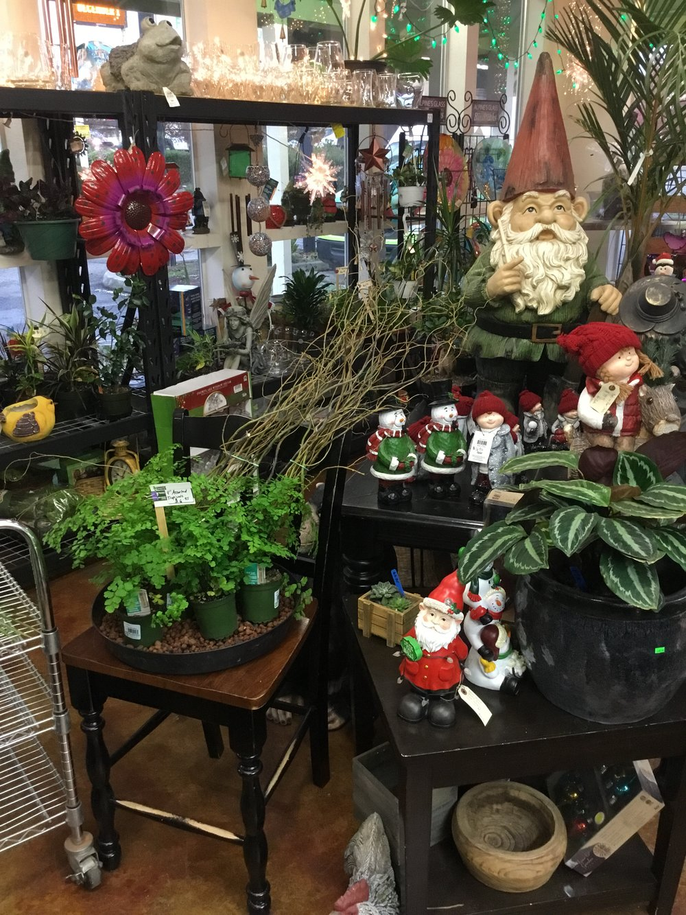 Gifts - From statuary to fairies to fountains, we have a selection of gifts and home decor to choose from.