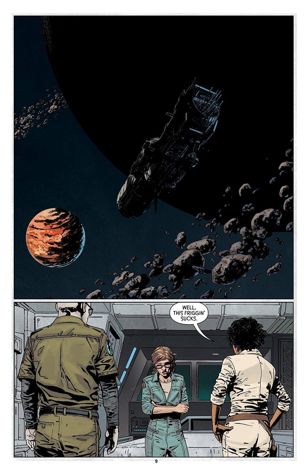 (Art by Stephen Thompson/Dark Horse Comics. Source:  Comixology )