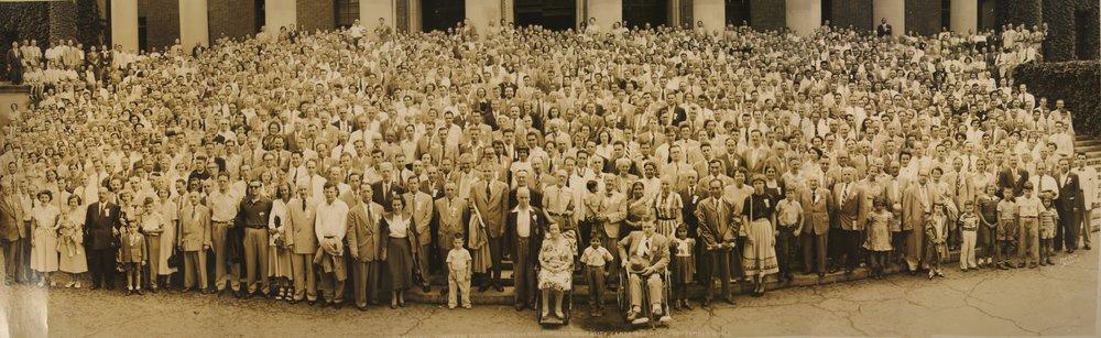 The AMS and MAA: Establishing the Backbone of American Mathematics
