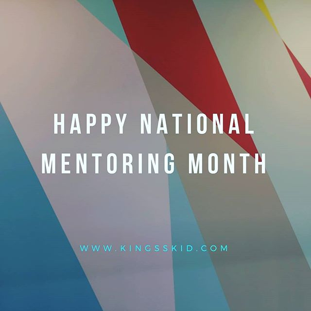 Happy National Mentoring Month. As someone who serves as a mentor and as a mentee. I take great delight both being a mentor and mentee. My mentors provide the jewels of knowledge and wisdom for me to consistently create crowning moments in all that I do. My mentees are my motivation as to why I share jewels of knowledge and wisdom. As my mentors continuously pour into me, I should pour into my mentees and others that cross my path. Never stop pouring. Never stop creating crowning moments. • • • www.kingsskid.com