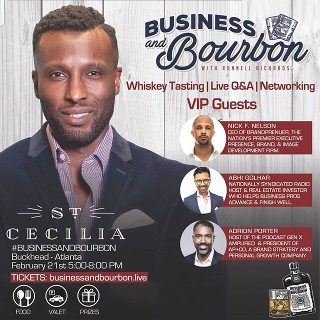 I am passionate about connecting with people. I love pouring into people but I am also one who loves to gain knowledge and wisdom from others. After following #ronnellrichards for sometime. After seeing the highlights from #businessandbourbon I wanted to be in the room. Recently Ronnell announced that Business and Bourbon will be on tour and DALLAS is on the list and I am toooo excited!!!!!!! Never underestimate the power of LinkedIn. As much as we are on Facebook and Instagram don't forget to build your professional network as well. It's just as important!