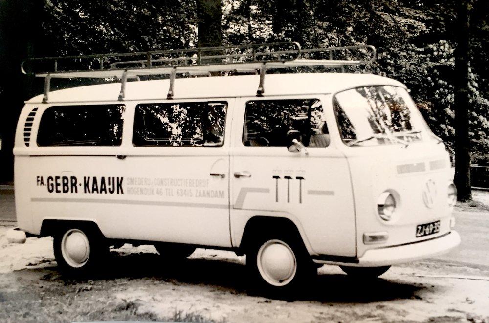 Onze oude transporter (1970)