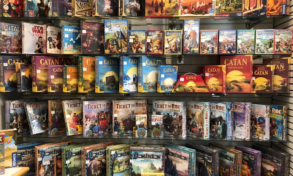 A selection of our strategy games