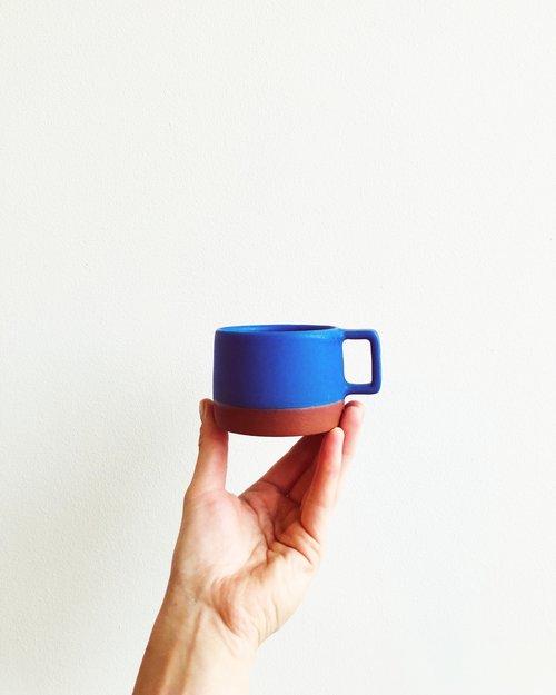 Cerulean Blue Mug    by    Wolf Ceramics