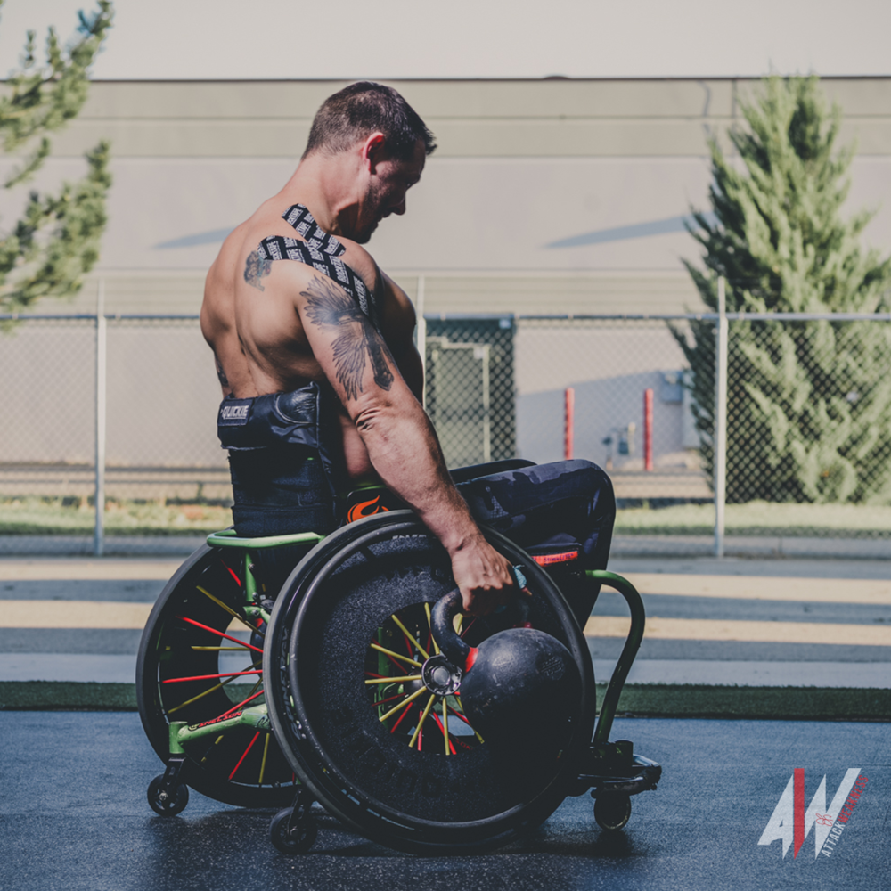 About - Jedidiah is a leader in growing the adaptive CrossFit movement, and he continues to raise the bar and set new expectations for what is possible.