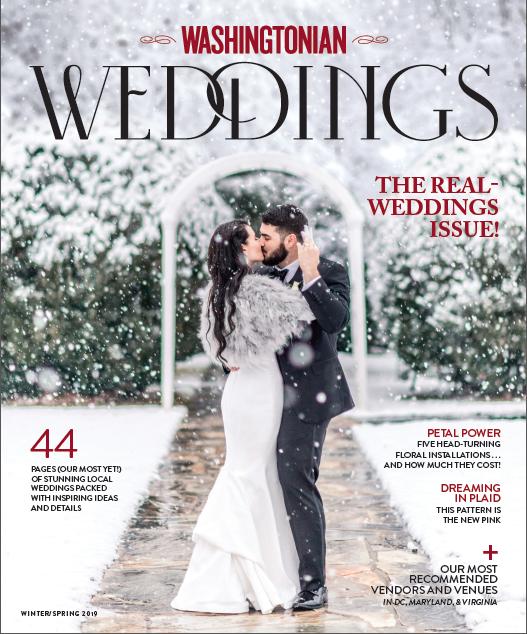Washingtonian Weddings Holly Chapple Flowers