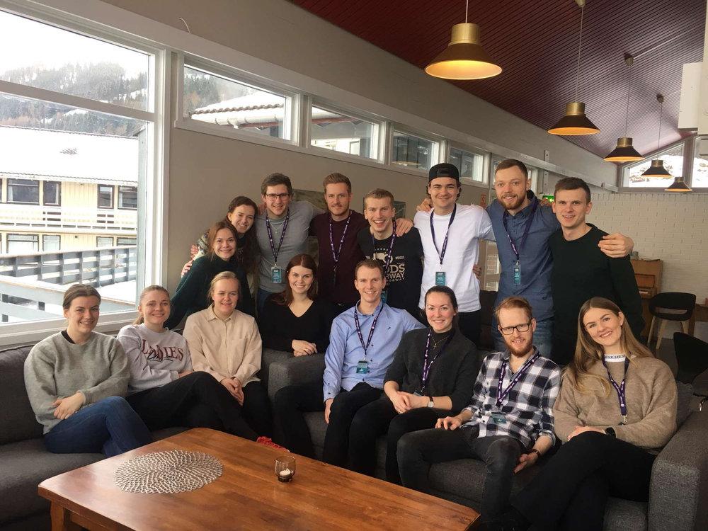 Vision-teamet som besøkte Sygna 28. februar - 3. mar