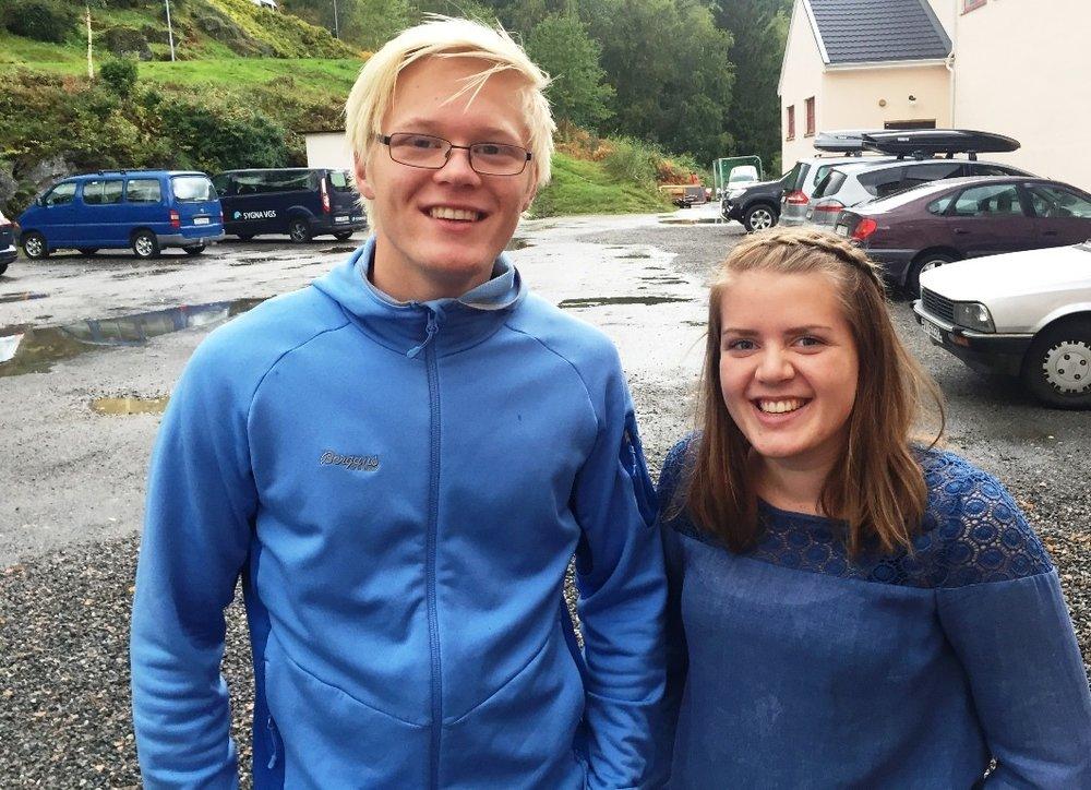 Rikard og Grethe Elisabeth oppfordrar til topp innsats for misjonsprosjektet måndag 19. november