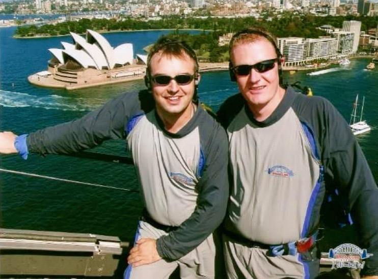Tony and Rob