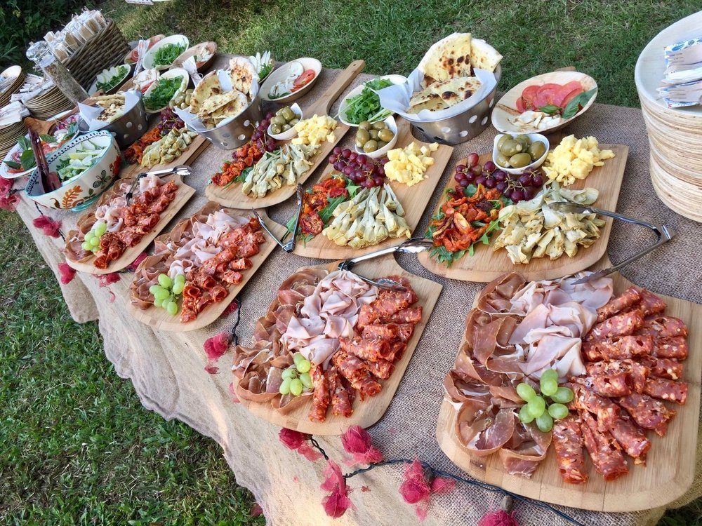 Kombi Pizza Wedding Cool Modern Reception Food Idea Antipasto Platters Cocktail Hour Brisbane Pizzantica