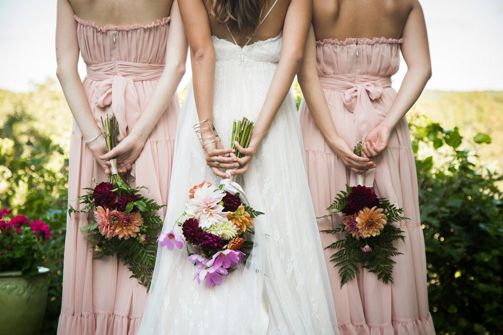 DIY Bouquets - photo by Will and D Photography