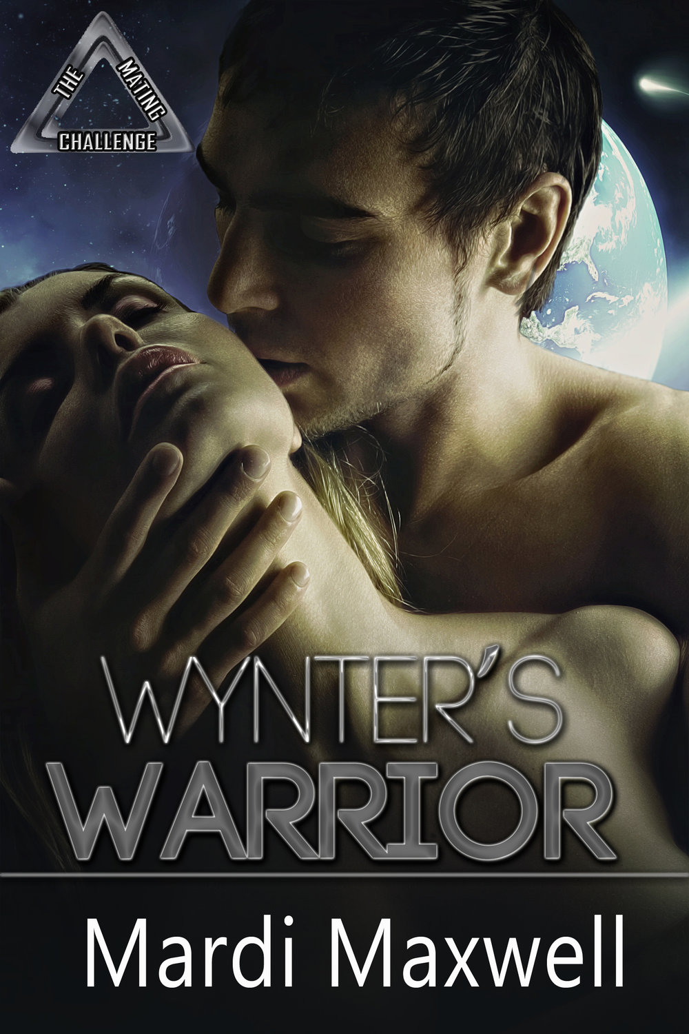 Wynter's Warrior - An alien alliance fleeing a common enemy travels through space seeking a new home. When they reach Earth they warn humanity that the Vagar will reach and attack Earth within a year. Earth's leaders negotiate a deal with the Alliance. In exchange for their advanced technology and their help in fighting the Vagar they'll be granted the right to settle on Earth and seek mates among the Earth females. The Alliance agrees but warns humanity that each Alliance member is a warrior race with its own cultural believes and rituals, but the one need they have one in common is the Mating Challenge. The Challenge is different for each race but any Earth female who volunteers to be the mate of an alien warrior will have to face it. Losing is not an option.