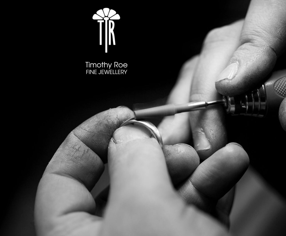 Ring cleaning at Timothy Roe Fine Jewellery