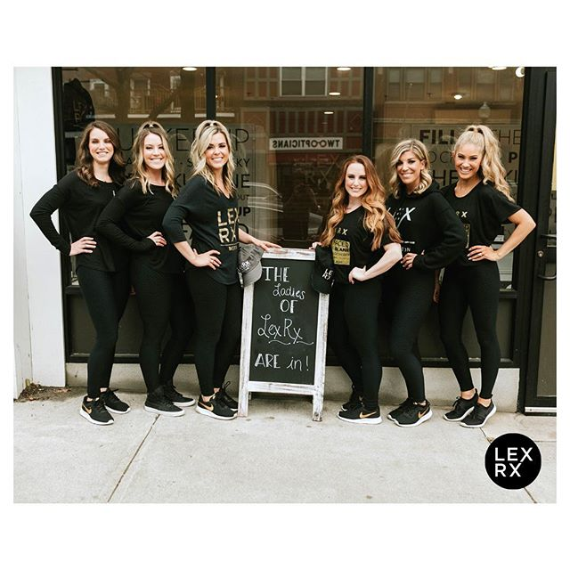 Weekend with LexRx👯♀️👯♀️👯♀️ . We're open Saturdays and Sundays at both LexRx Beacon Hill + LexRx South Boston➖come say hello! . #bestofboston #beaconhill #boston #southie #girlgang #squadgoals #seaportboston #injectables #botox #fillers #skincare