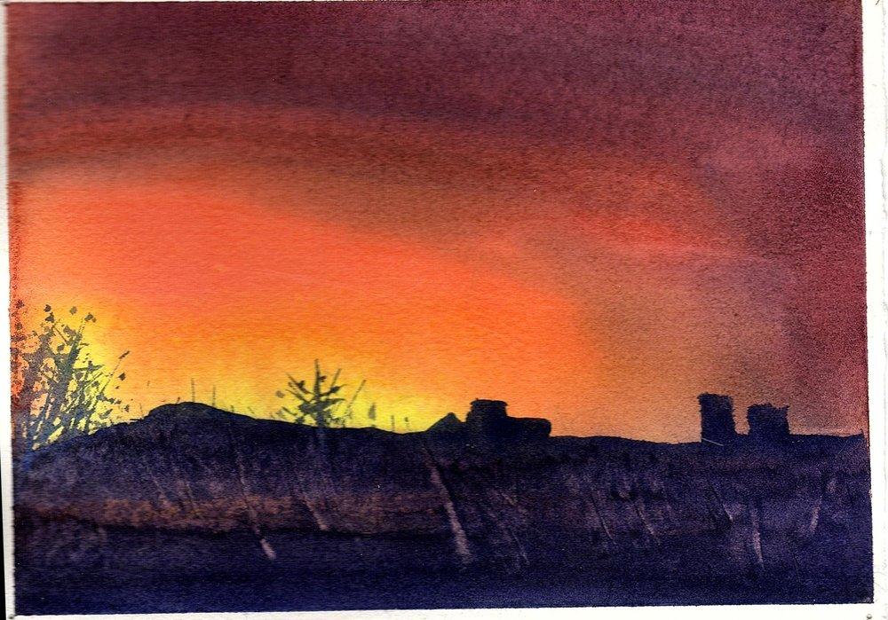 Sunrise over Wascana Lake