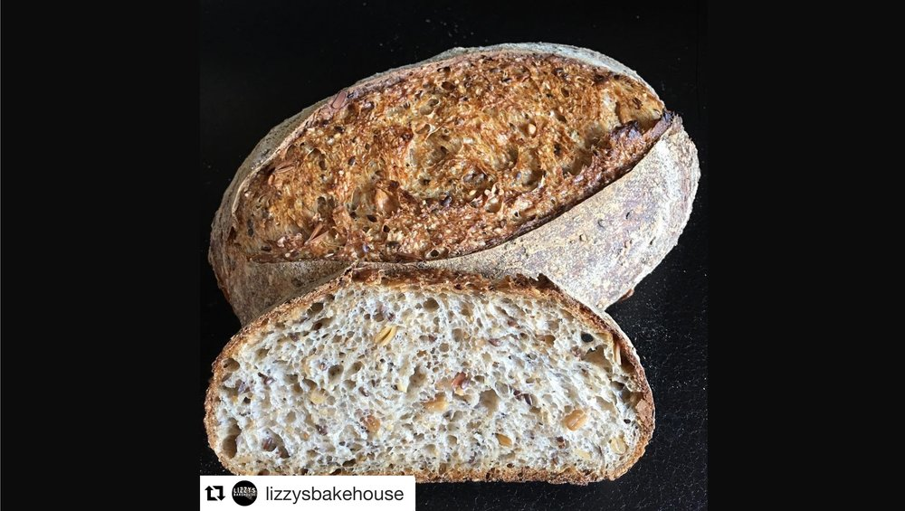 Photo of this amazing loaf by    @lizzysbakehouse    on Instagram