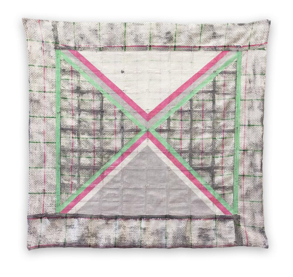 Lattice (in Green & Pink)