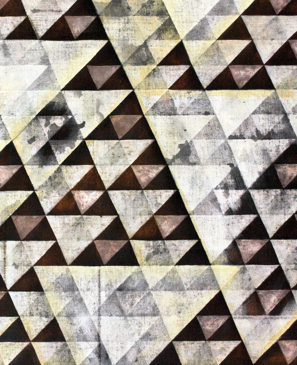 Untitled Triangles IV (Detail)