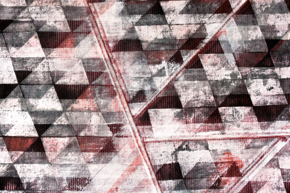 Untitled Triangle II (Detail)