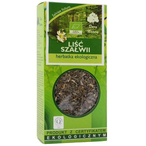 Szalwia Eko / Sage Tea 25g   5902741005977  / [946]   Lisciaste