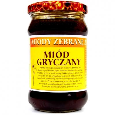 Miod gryczany / Buckwheat honey 400g   5902741001672  / [397]   Dary Natury