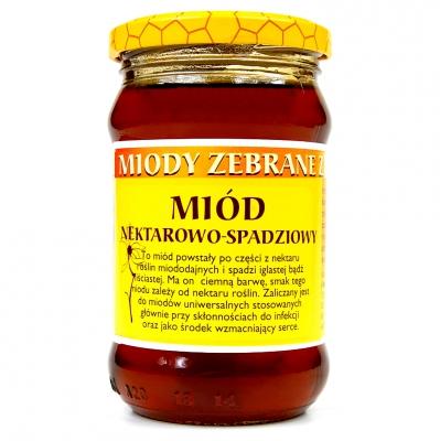 Miod nektarowo-spadziowy/ Nectar honeydew honey 400g   5902741002693  / [398]   Dary Natury