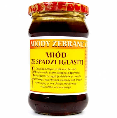 Miod spadziowy / Honeydew honey 400g   5902741001726  / [399]   Dary Natury