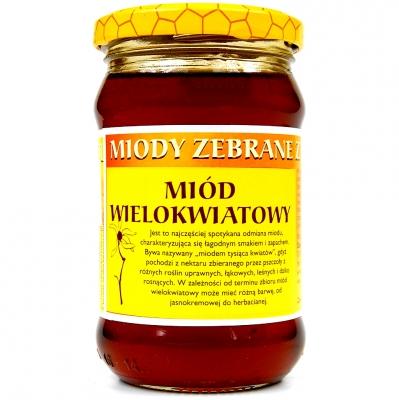 Miod wielokwiatowy/ Multiflower honey 400g   5902741001702  / [400]   Dary Natury