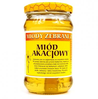 Miod akacjowy / Acacia Honey 400g   5906716529864  / [015]   Orzeszek