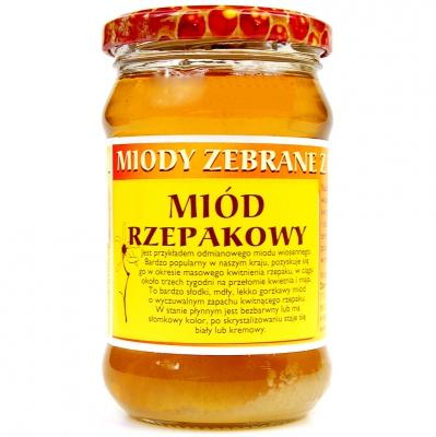 Miod rzepakowy / Rapeseed Honey 400g   5906716529413  / [016]   Orzeszek